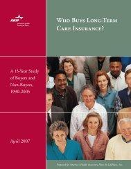 Who Buys Long‑Term Care Insurance? - NAHU