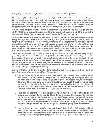 Thông điệp - Oxfam Blogs