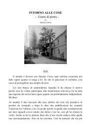 giorni di pietra XIX - alphonse doria