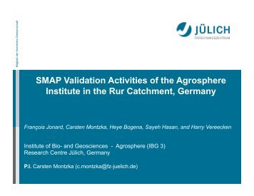 Rur Catchment, Germany - SMAP