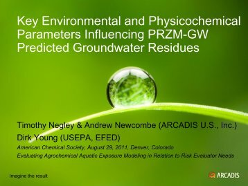 Key Environmental and Physicochemical Parameters Influencing ...