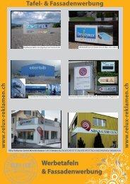 Werbetafeln & Fassadenwerbung