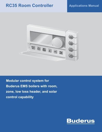 RC35 Room Controller - Buderus