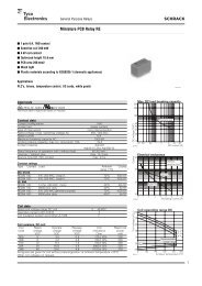 SCHRACK Miniature PCB Relay RE - Eshop-Rychle.cz