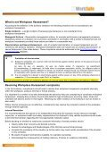 Workplace Harassment – Information for Workers - NT WorkSafe - Page 2