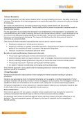 Workplace Harassment – Information for Workers - NT WorkSafe - Page 3
