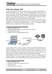 Micro-Master USB - Handbuch / Manual - ICM Technologies