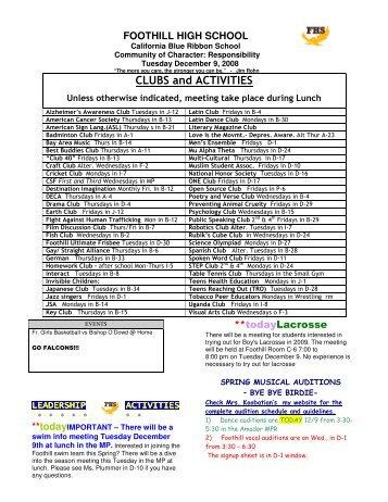 microsoft word 1 7 bulletin pdf foothill high school