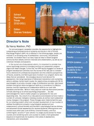 Director's Note - College of Education - University of Florida