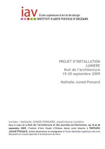 Nathalie Junod-Ponsard - FRAC Centre