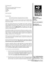 CLA(4)-03-13-Paper 15-Evidence from Wildlife Trusts Wales, item ...