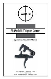 AR Model LE Trigger System - MidwayUSA