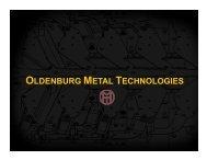 Oldenburg Metal Tech. Inc. - Metalforming Magazine