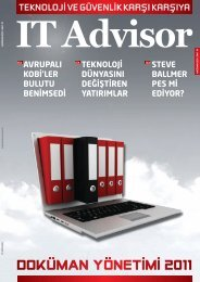 Haziran 2011 - IT Advisor