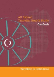 All-Ireland Traveller health study: travellers in institutions