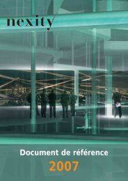 Document de référence 2007 (.pdf 5.87 Mo) - Nexity