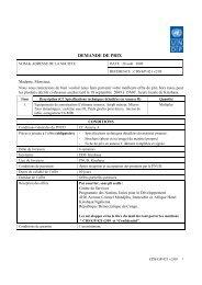 DEMANDE DE PRIX - mediacongo.net
