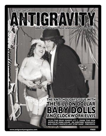 December 2007 (PDF) - Antigravity Magazine
