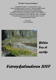 Værøykalender 2007