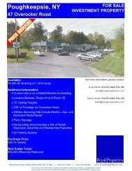 Poughkeepsie, NY 47 Overocker Road - Royal Properties, Inc.