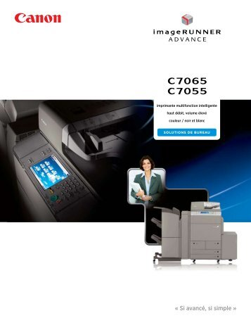 Brochure imageRUNNER ADVANCE 7065 - Canon