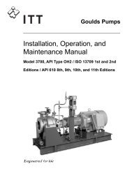 3700 Installation Operation and Maintenance Manual