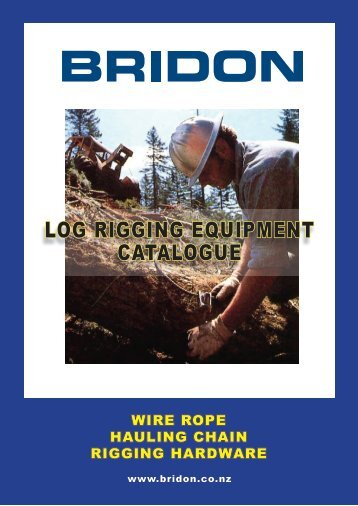 LOG RIGGING EQUIPMENT CATALOGUE - Bridon