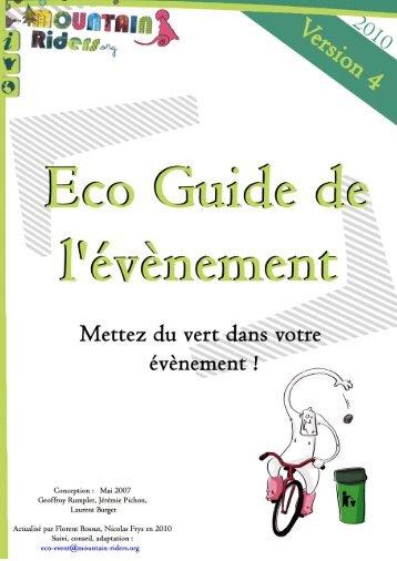 Eco Guide de l'événement - Mountain Riders