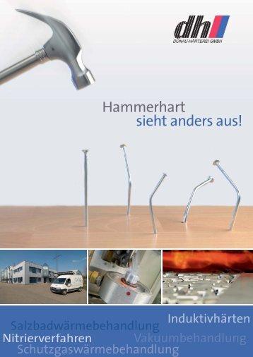 Firmenbroschüre Donau-Härterei GmbH - B4B Schwaben