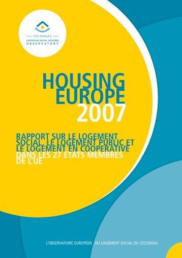 rapport sur le logement social, le logement public et le logement en ...