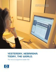 ACI WW - January 2003 (179 KB, PDF) - HP Integrity NonStop Servers