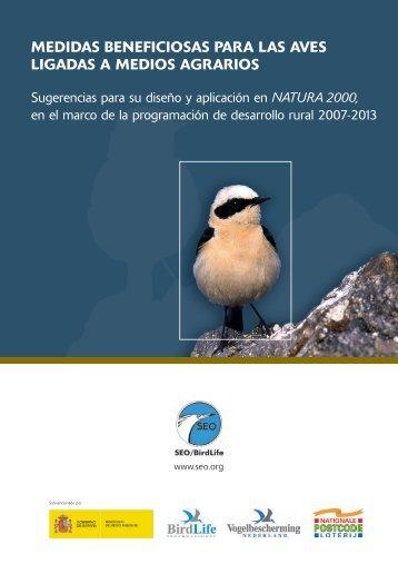 medidas beneficiosas para las aves ligadas a medios ... - SEO/BirdLife