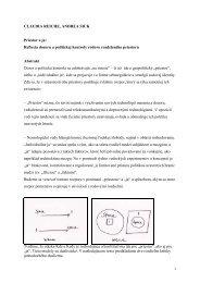 CLAUDIA REICHE, ANDREA SICK Priestor a ja: Reflexia dozoru a ...