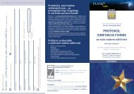 Protokol Simfonija forme - Planet GV