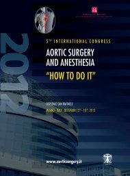 """""""HOW TO DO IT"""" - 5th international congress aortic surgery and ..."""