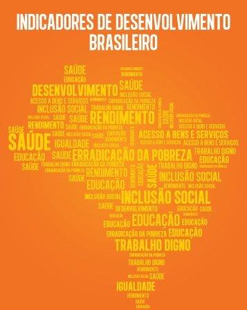 Indicadores de Desenvolvimento Brasileiro