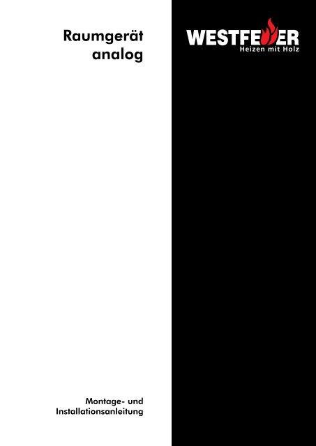 Raumgerät analog - Enspa