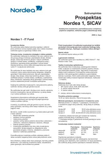 ITF 06 2008.indd - Nordea Bank Lietuva