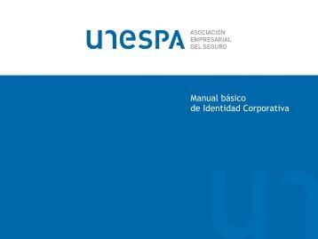Manual básico de Identidad Corporativa - Unespa