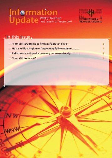 Information Update Vol 3, Issue 4.cdr