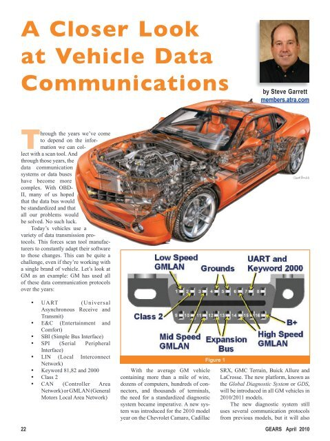 A Closer Look at Vehicle Data Communications - Gears Magazine
