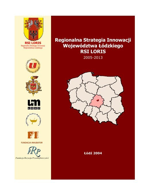 Regionalna Strategia Innowacji Województwa Łódzkiego