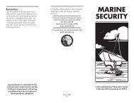 Marine Security - Network of Care