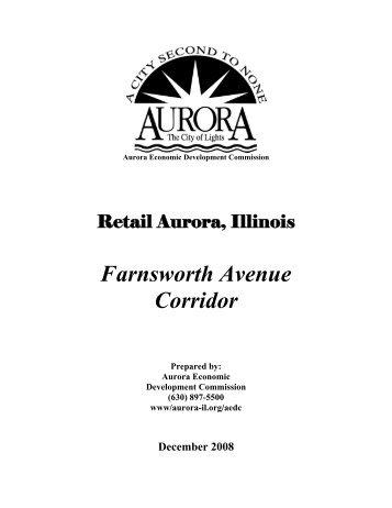 Farnsworth Avenue Corridor - City of Aurora