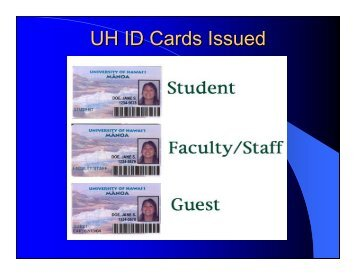 3. Faculty / Staff ID Update