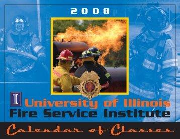 fire calendar - Illinois Fire Service Institute