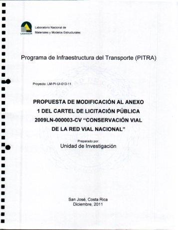 LM-PI-UI-013-11 Modif Cartel Conserv RVN