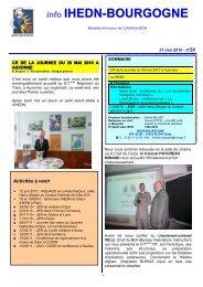 info n°28 IHEDN-BOURGOGNE