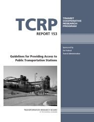 Guidelines for Providing Access to Public Transportation Stations