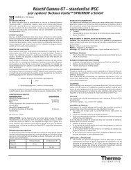 Réactif Gamma GT – standardisé IFCC - Thermo Scientific